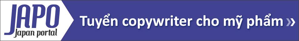 Japo tuyển dụng copyright cho mỹ phẩm