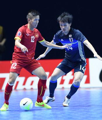 TUYỂN FUTSAL VN GÂY CHẤN ĐỘNG LỊCH SỬ TRƯỚC NHẬT BẢN VCK WORLDCUP 2016.