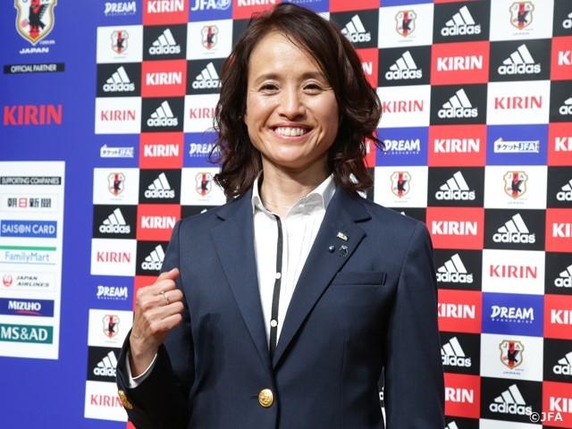 Đội tuyển bóng đá nữ Nhật Bản có nữ huấn luyện viên mới