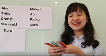 Tên các màu sắc trong tiếng Nhật