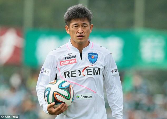 Tiền đạo 49 tuổi của Yokohama FC là ai?