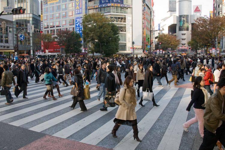 Đến Nhật, hãy là người đi bộ hạnh phúc. - JAPO - Cổng thông tin Nhật Bản