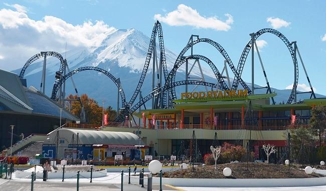 Kết quả hình ảnh cho Công viên Fuji Q Highland