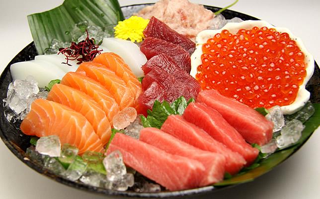 Kết quả hình ảnh cho Sashimi Nhật Bản