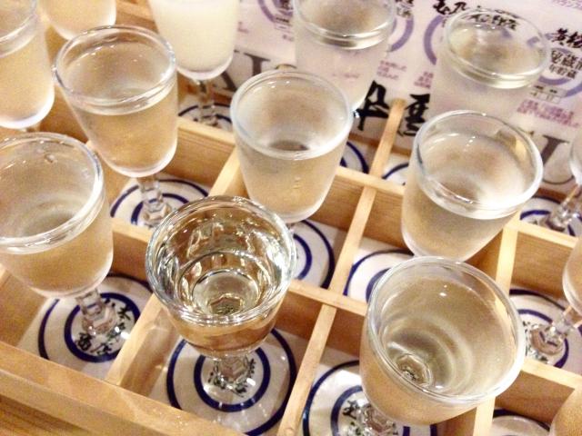 Uống các loại rượu Nhật thả ga chỉ với 6 trăm nghìn VND