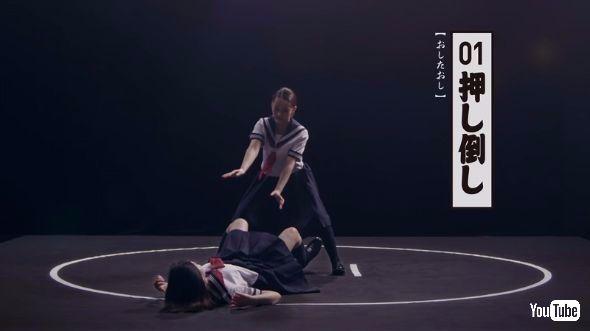 """""""Há hốc mồm"""" với hai cô gái xinh đẹp thực hiện 82 kĩ thuật Sumo điêu luyện như dân chuyên"""