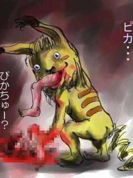 """""""Khóc thét"""" với những Pikachu """"phiên bản kinh dị"""" lan tràn khắp thế giới"""