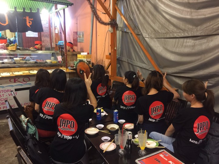 Buổi họp mặt thân thiết của các thành viên Team Japo tháng 6