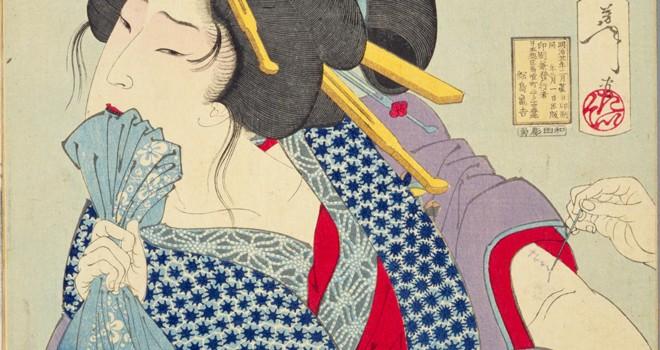 """Tuyệt chiêu """"ăn vạ"""" ghê rợn của phụ nữ Nhật 100 năm về trước"""