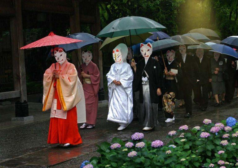 Ý nghĩa thật sự của chiếc mặt nạ Cáo trong đời sống người Nhật
