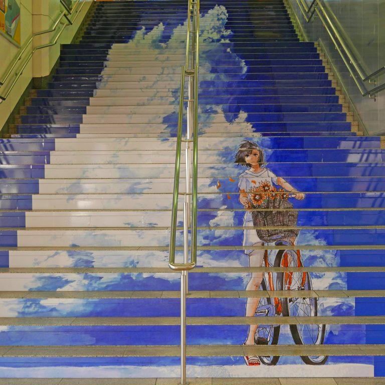 """Nghệ thuật quảng cáo ở nơi """"hóc hiểm"""" – Đừng """"vấp cầu thang"""" nếu bạn nhận ra thông điệp ẩn chứa ấy"""