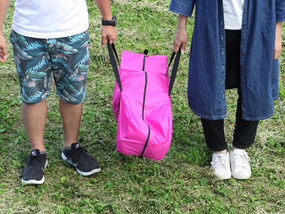 """Công ty du lịch Nhật cho ra đời sản phẩm độc: Lều dã ngoại """"cấm ngủ chung"""""""