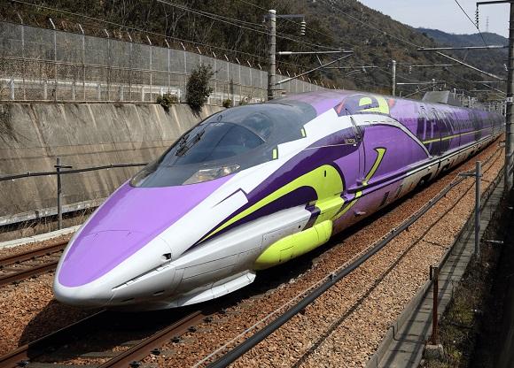 Evangelion Shinkansen nói lời chào tạm biệt khiến nhiều Fan tiếc nuối