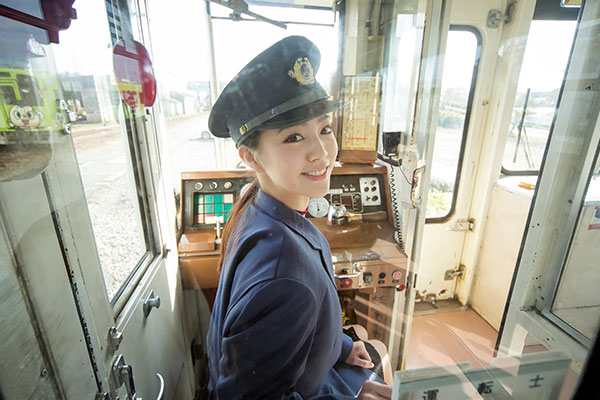 Bạn đã bao giờ nhìn thấy tàu điện không người lái ở Nhật?
