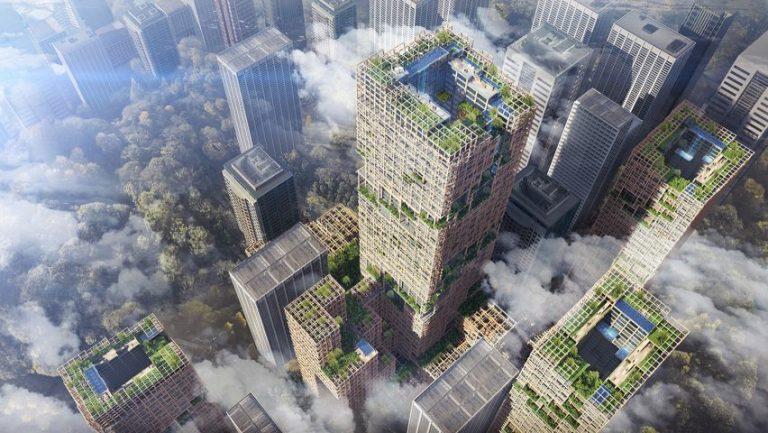 Kế hoạch xây dựng tòa nhà chọc trời bằng gỗ cao nhất thế giới ở Nhật Bản được công bố