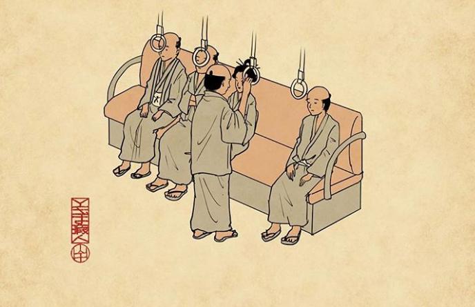 """Chuyện anh Samurai """"cảm"""" về người Nhật thế kỷ 21: Có ghế trống chẳng ngồi, đi """"lố"""" tàu phải cư xử ra sao?"""
