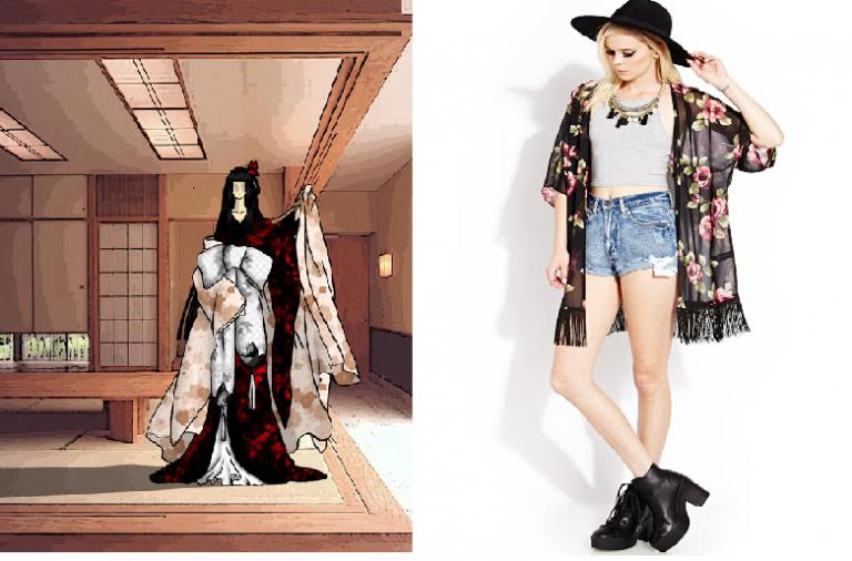 Kimono – từ trang phục truyền thống Nhật Bản thành xu hướng mới của phong cách trẻ trung hiện đại