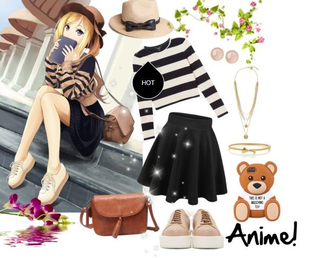 """Những set quần áo """"chất"""" khỏi bàn lấy cảm hứng từ Anime"""