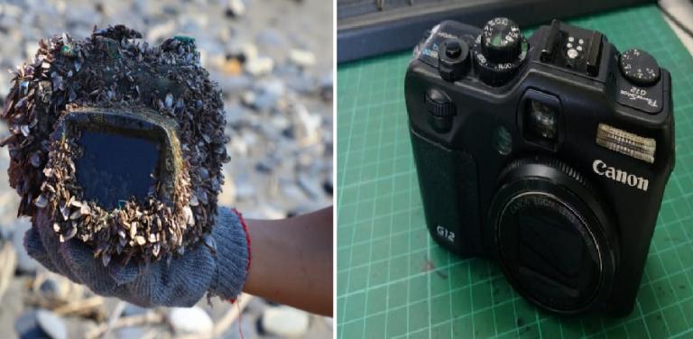 Cô gái mất Camera khi đi lặn ở Nhật, 3 năm sau bất ngờ lại được tìm thấy ở Đài Loan