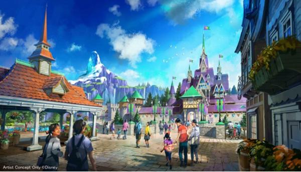 """Tokyo Disney Resort công bố dự án """"khủng"""" 250 tỉ yên – Kỷ nguyên của """"Vương quốc trên mây"""" đã đến ?"""