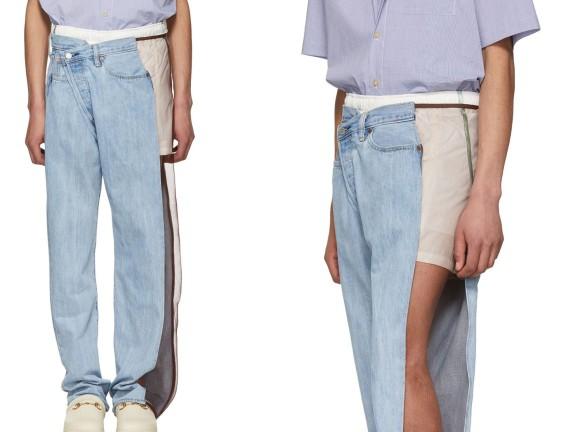 """""""Quan ngại"""" với mẫu mã khó hiểu của những chiếc quần Jean thời đại mới…"""