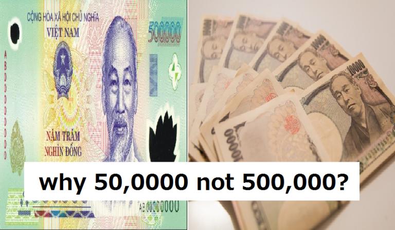 Tại sao Nhật Bản lại có hai cách đọc số (trong khi đó Việt Nam chỉ có một)?