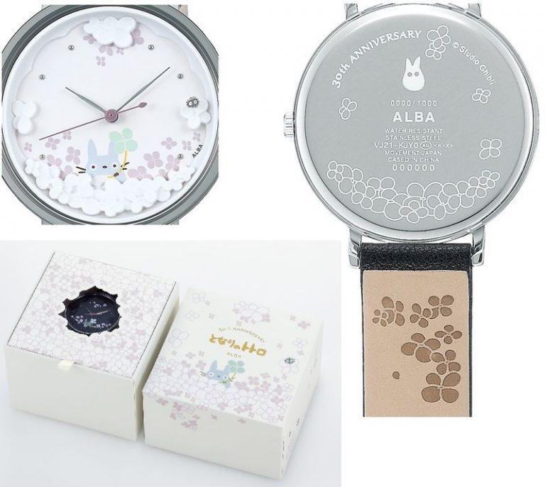 Fan của Studio Ghibli ư? Vậy bạn đã sở hữu những chiếc đồng hồ này chưa?