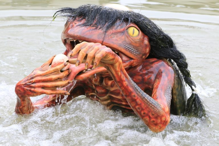 Thị trấn Fukusaki-  nơi khiến bạn giật mình hoảng sợ vì sự xuất hiện con quái vật Kappa