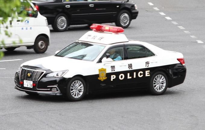 Biến hình đẳng cấp Ninja như xe cảnh sát Nhật