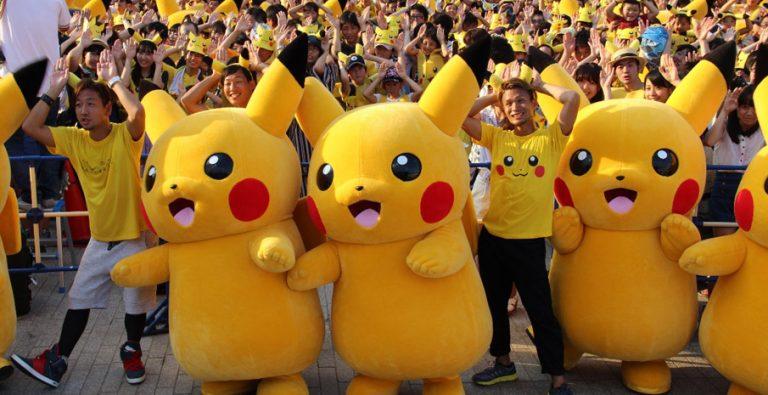 Thế vận hội thể thao của các linh vật trong…….Pokemon