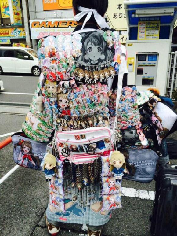 """[Ita-Bag]- Hot Trend của những cô nàng """"lập dị"""" Nhật Bản"""