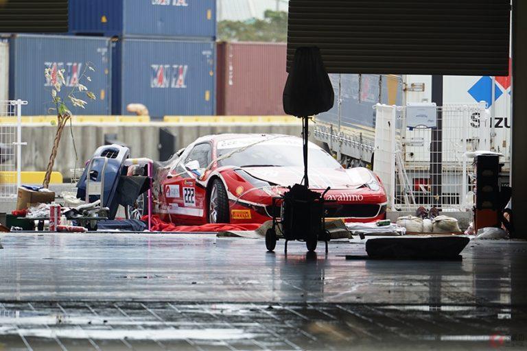 Thiệt hại hơn 1 tỷ Yên từ bão lớn, 51 siêu xe Ferrari bị lũ cuốn trôi, buộc phải vứt bỏ