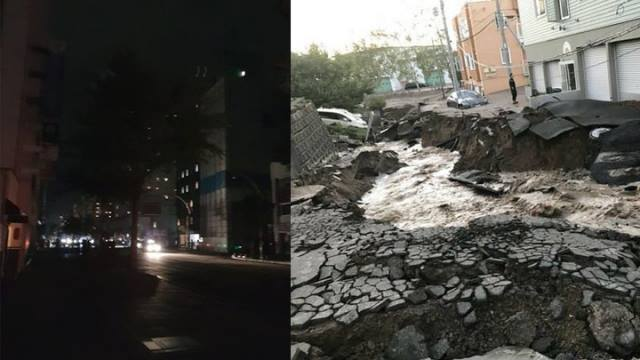 Tin nhanh: Động đất mạnh tại Hokkaido, Nhật Bản đối mặt với hàng loạt thiên tai