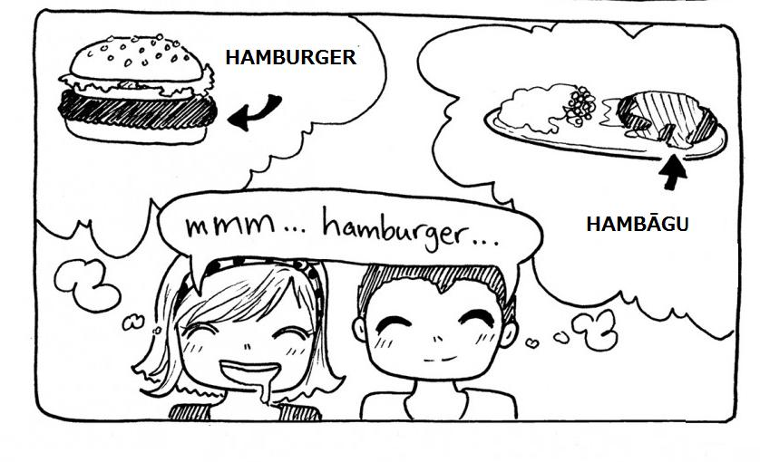 Nhầm lẫn tai hại khi học tiếng nhật ハンバーガー (HAMBURGER) và ハンバーグ (HAMBĀGU)