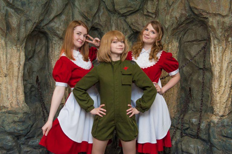 Sự kết hợp hoàn hảo – Những thiên thần Nga giáng trần trong quán cà phê hầu gái kiểu Nhật