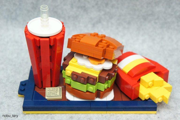Những mẫu đồ ăn siêu ngon mắt làm từ những miếng gạch….Lego