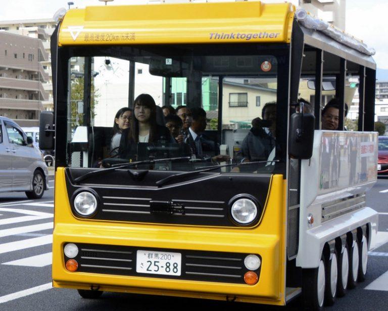 Nhật Bản thử nghiệm xe buýt tự chạy – Tham vọng đưa công nghệ tự động đến toàn thế giới