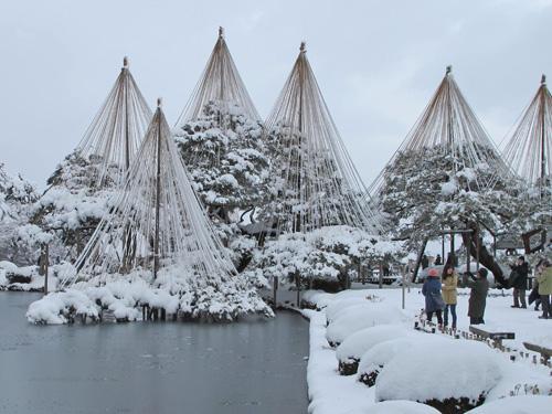 """Yukitsuri – """"Thần bảo hộ"""" cây cối khi mùa đông đến"""
