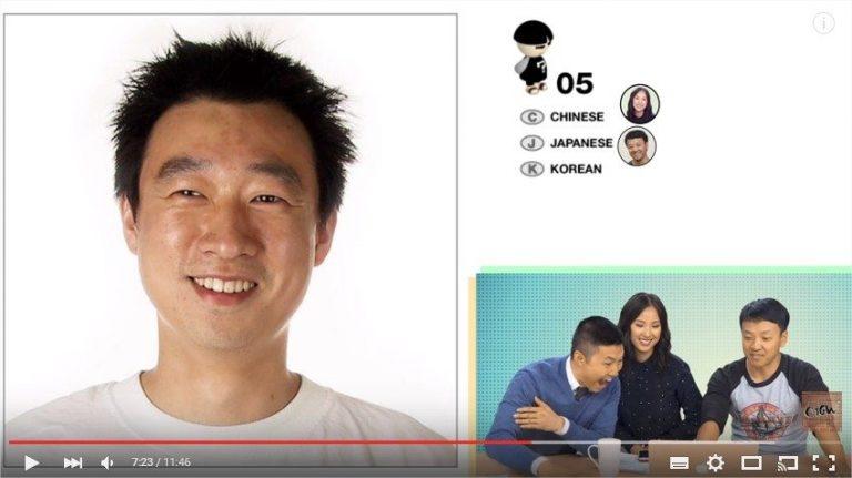 Bạn có phân biệt được gương mặt của người Hàn, người Nhật và người Trung Quốc?