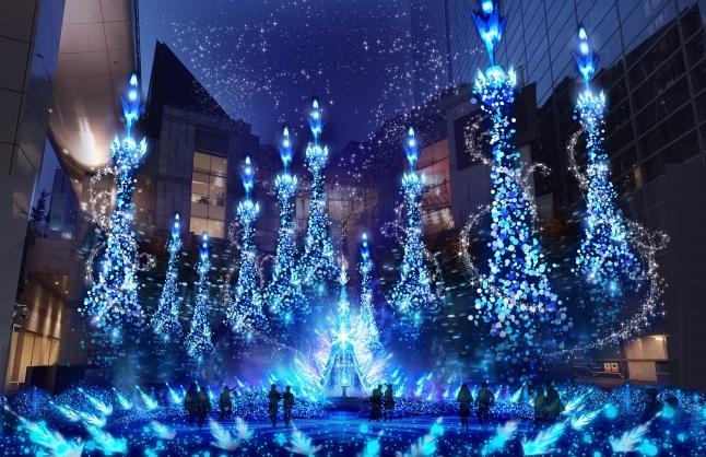 Những địa điểm Giáng sinh rực rỡ nhất mà bạn không nên bỏ qua ở Tokyo 2018