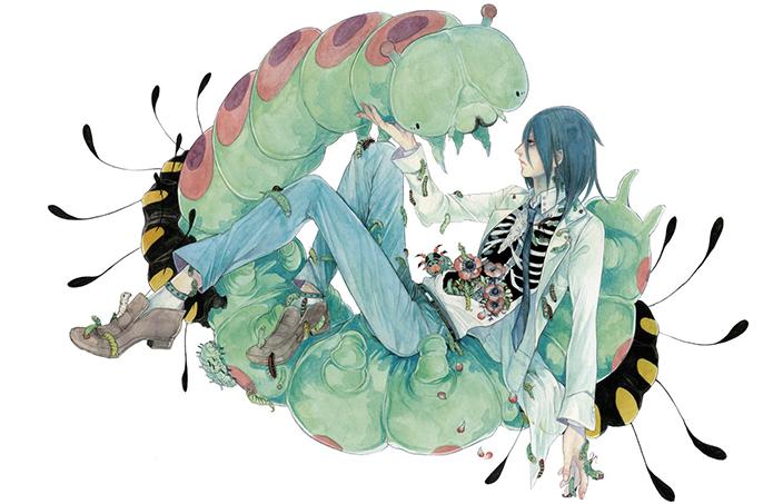 """Những bức vẽ """"nhiều chân"""" ám ảnh người sợ sâu không nên xem"""