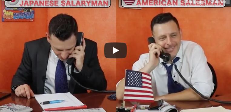 So sánh thú vị giữa Salary-man Nhật Bản và nhân viên văn phòng ở Mỹ