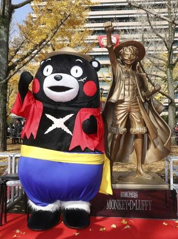 Nghĩa cử cao đẹp của Oda khi góp công xây dựng tượng đồng Luffy tại quê hương Kumamoto