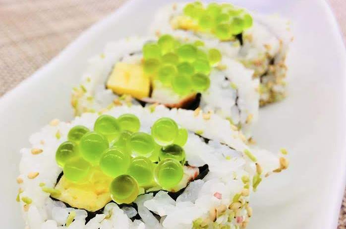 """Nhật Bản tạo ra một loại """"trứng cá"""" mới làm từ…. Wasabi"""