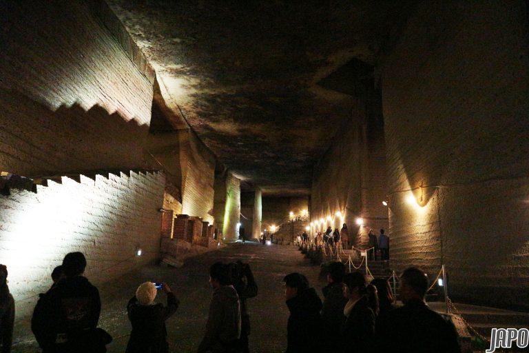 """Bên dưới """"tảng băng chìm"""" ở bảo tàng lịch sử Oya là nền văn hóa cổ bí ẩn trong lòng đất"""