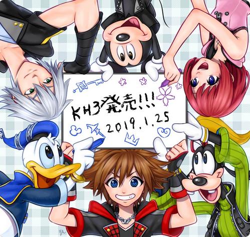 Sau 12 năm chờ đợi, người hâm mộ chào mừng sự trở lại của Kingdom Hearts III bằng loạt Fanart cực đỉnh