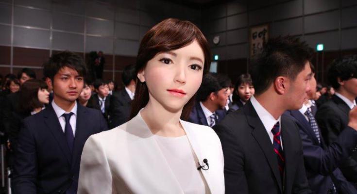 Sốc với ngoại hình xinh đẹp và khả năng hội thoại tuyệt đỉnh của cô phát thanh viên Robot đầu tiên ở Nhật