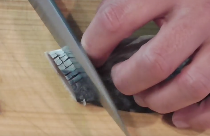"""""""Hoa mắt"""" với kỹ thuật làm Sushi đỉnh cao của đầu bếp Nhật Bản"""
