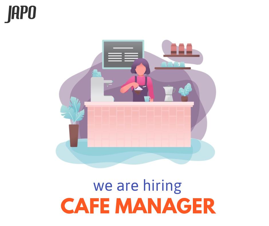 Japo cafe tuyển dụng quản lý quán cà phê