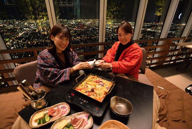 """Bạn có dám: """"Ăn"""" cả nước Nhật trên độ cao 300m ?"""